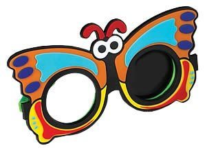Butterfly Opaque Occluder Glasses-0