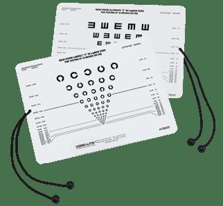 Tumbling E and Landolt C Near Card-0