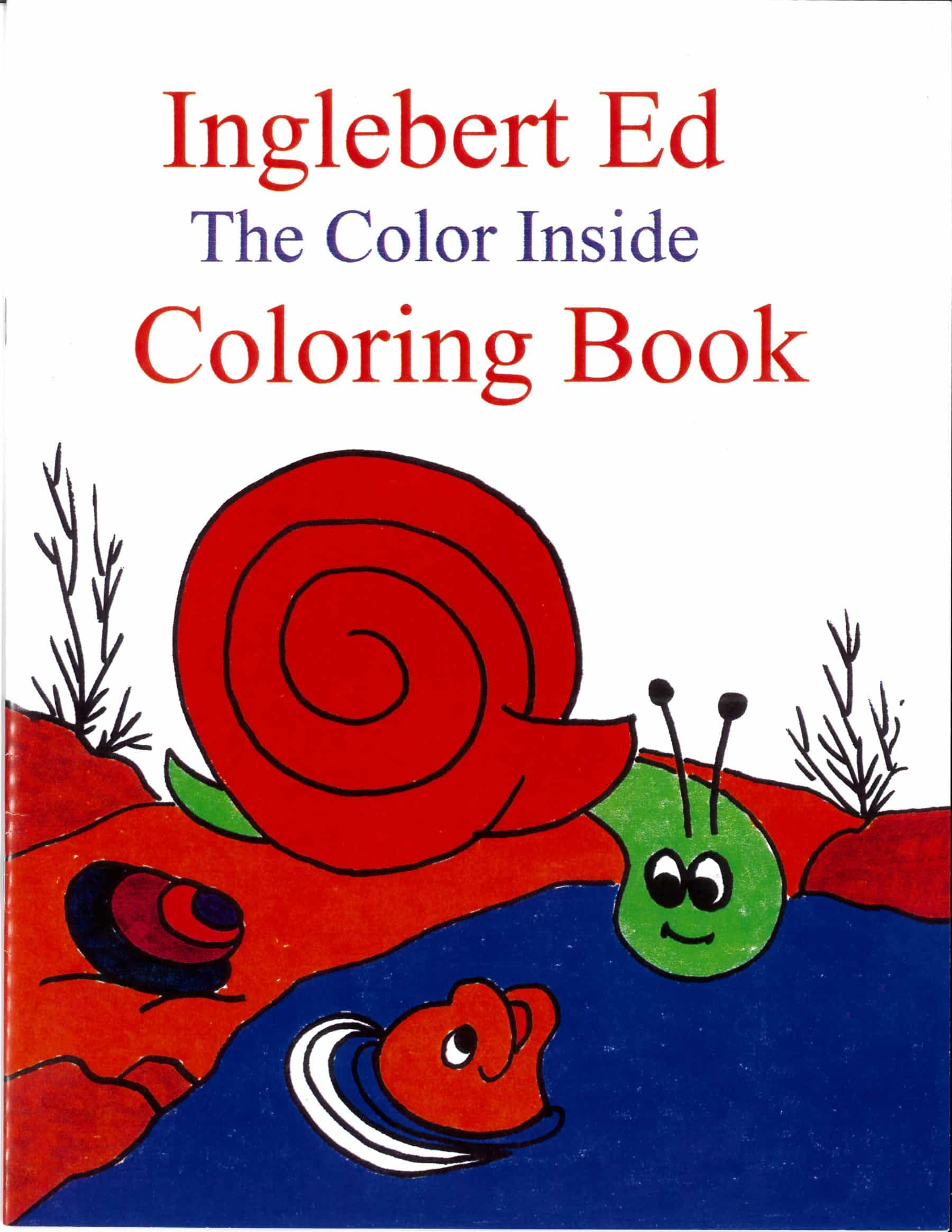 Inglebert Ed - The Color Inside (Coloring Book)
